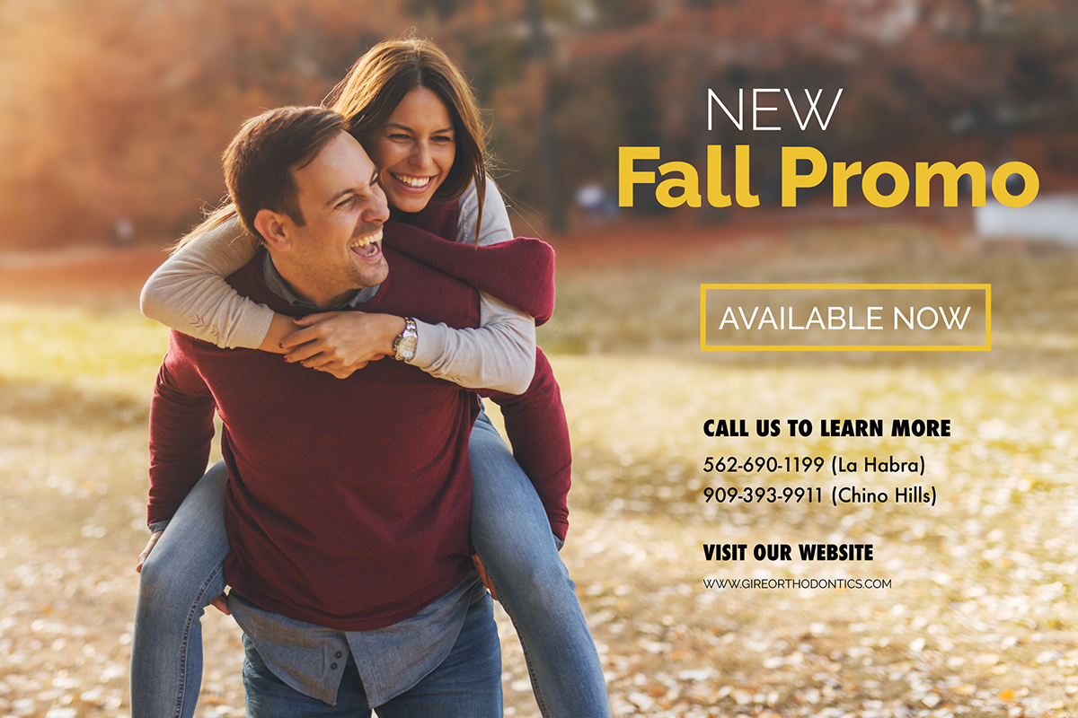 new fall braces promo chino hills la habra